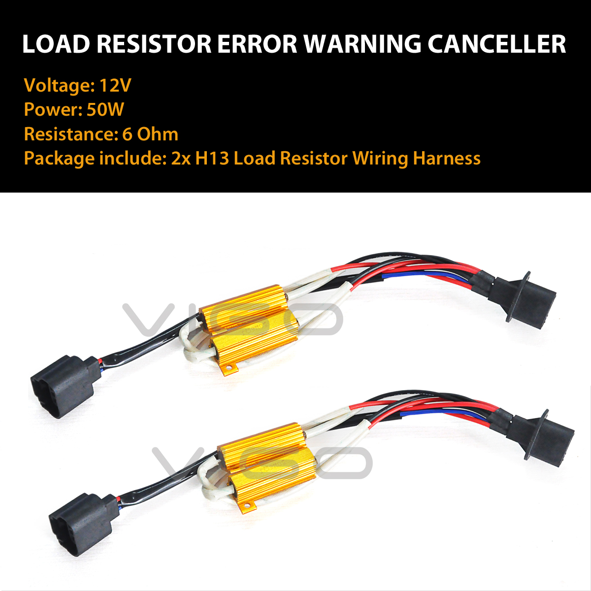 2x H13 9008 Led Headlight Bulb Canbus Error Free Anti Flicker Picture Of Choosing The Resistor To Use With Leds Click Below Photo Buy Other Lasfit Bulbs Together