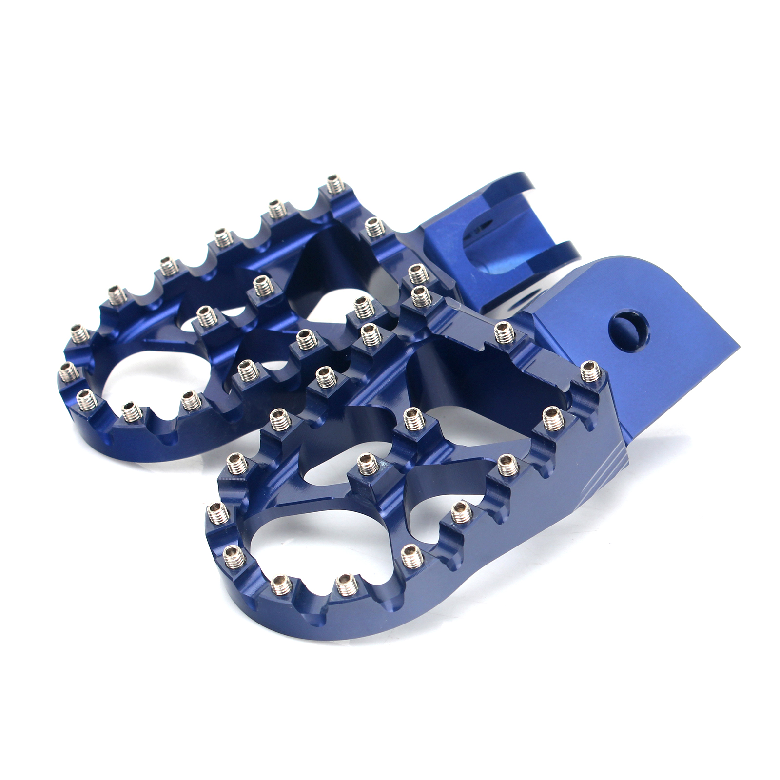 Blue Footpegs Foot Pegs for BMW F650GS 00-12 F800GS 08-13 R1200GS 04-12 F700