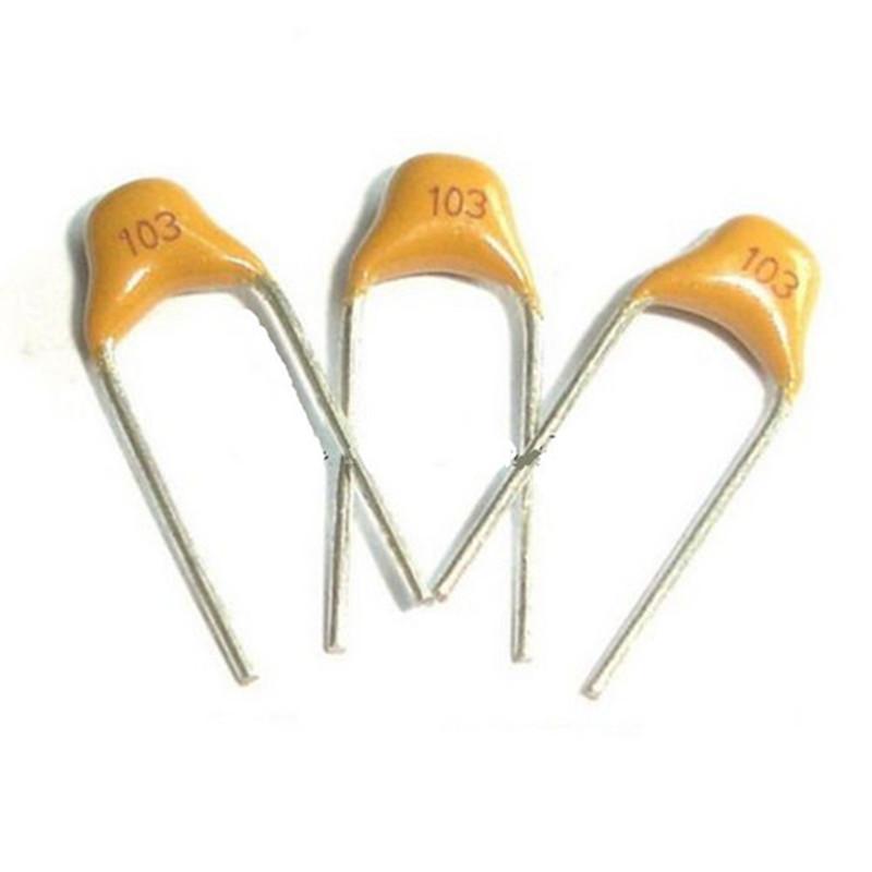 100Pcs 103 50V 0.01uF Monolithic Ceramic Chip Capacitor