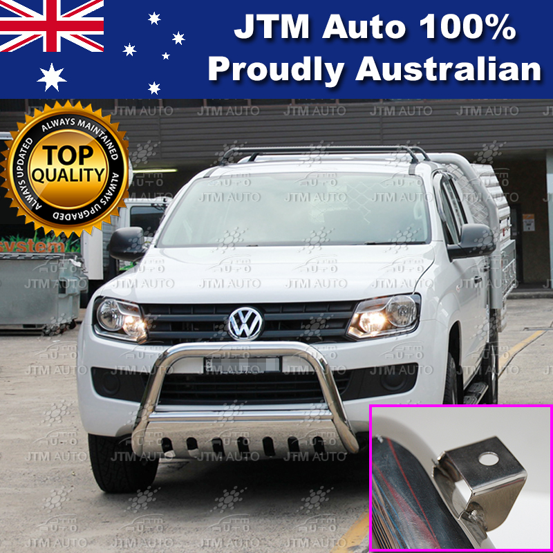 "Nudge Bar 3"" Stainless Steel Grille Guard Suits Volkswagen VW Amarok 2010-2019"