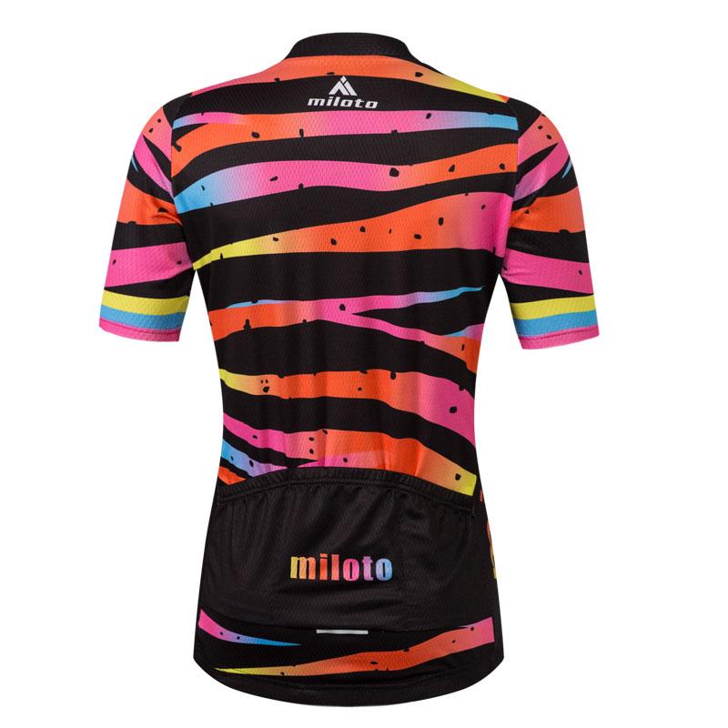 013ae36e8 Zebra Women s Cycling Wear Bike Bicycle Jersey Shirts and Padded Bib ...