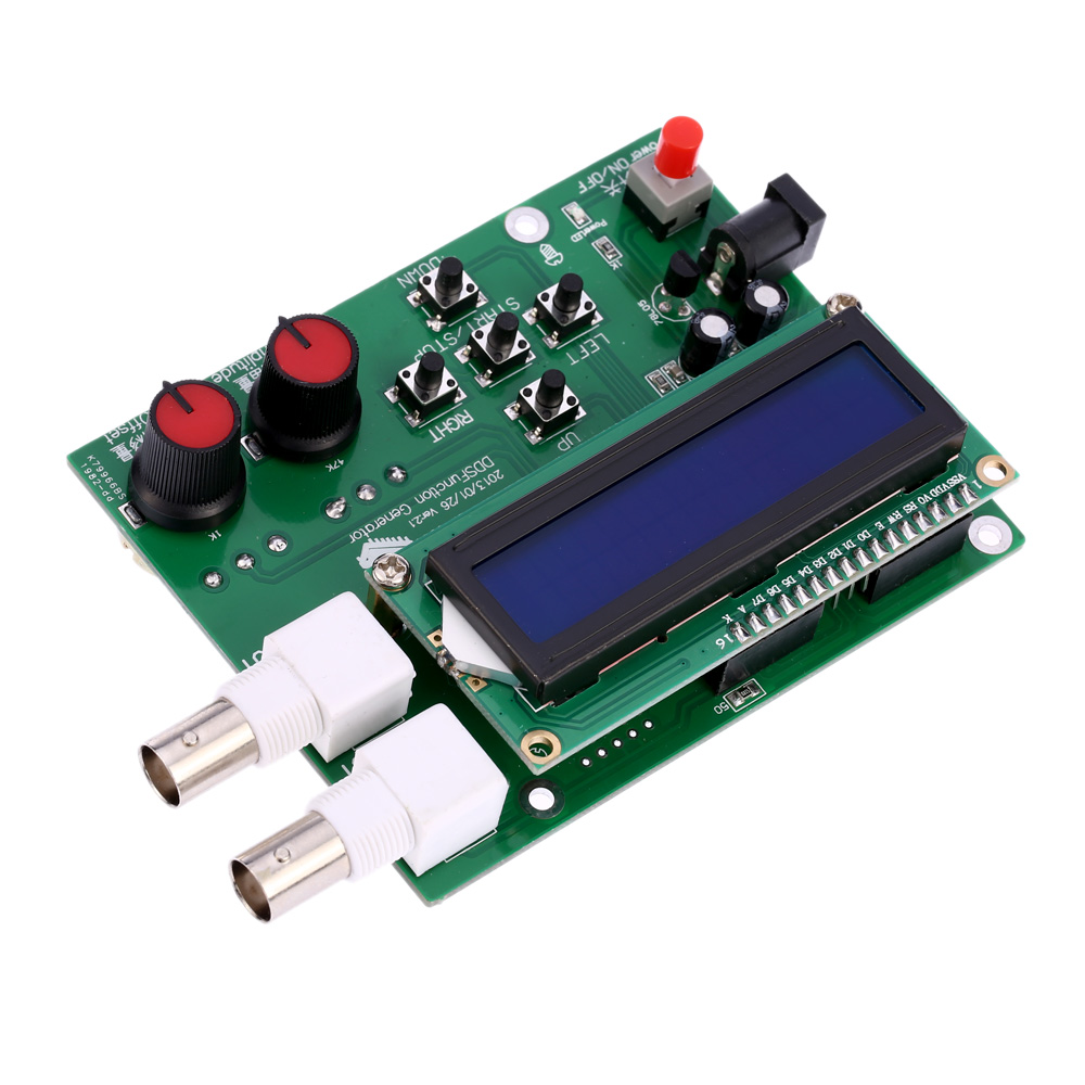 Details about New DDS Function Signal Generator Sine Square Sawtooth  Triangle Wave up to 8MHz