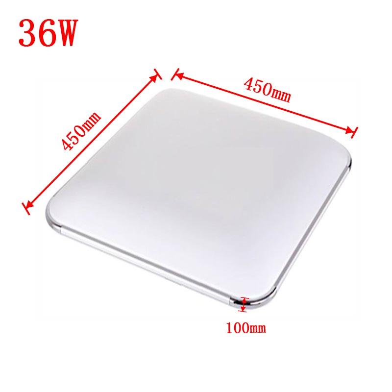 36w led deckenlampe deckenleuchte warmwei wohnzimmer k che b ro wandlampe ip44 ebay - Led buro deckenleuchte ...