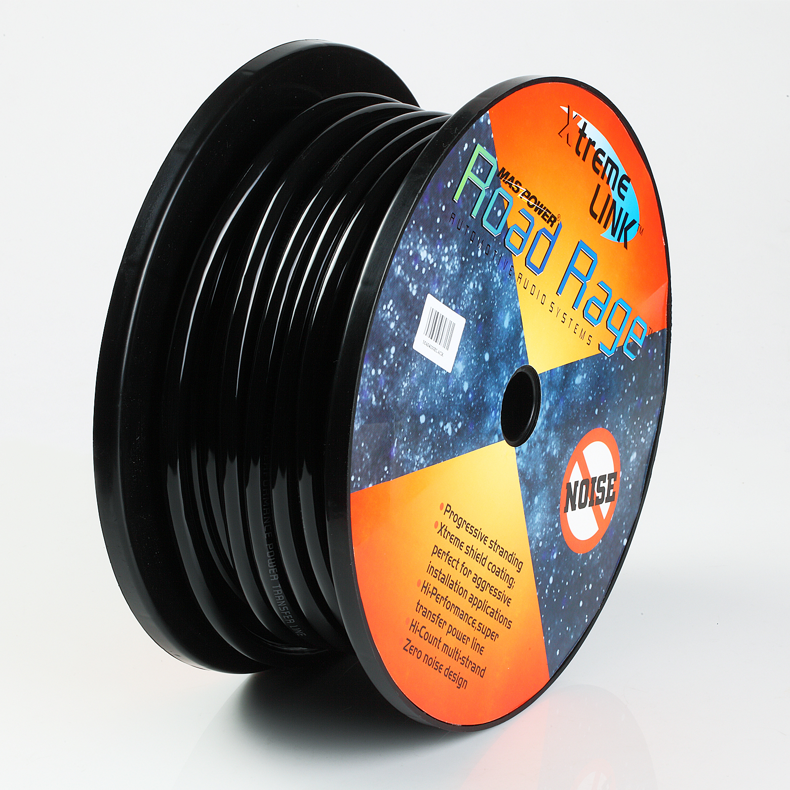 100FT BLACK HIGH PERFORMANCE PRIMARY WIRE 14 GAUGE AWG MADE IN USA