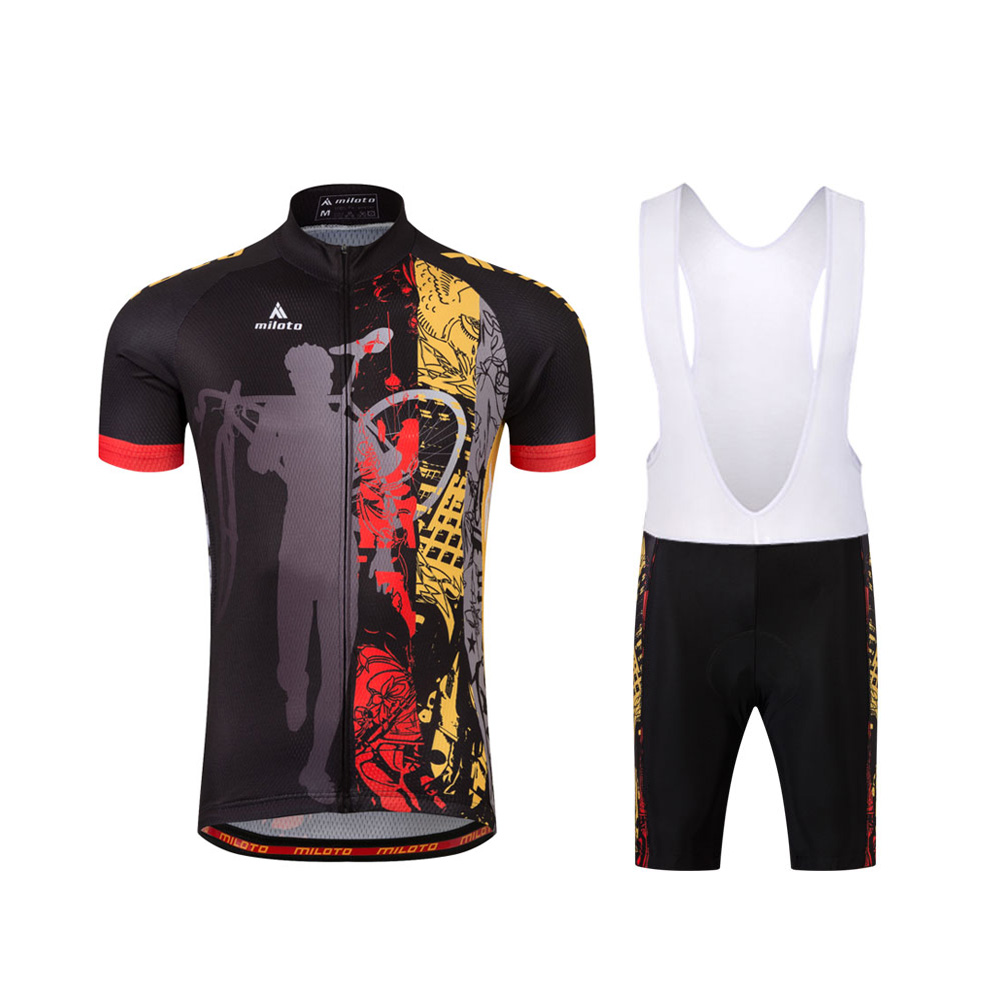 Pennsylvania Cycling Jersey Padded Bib Short Kit