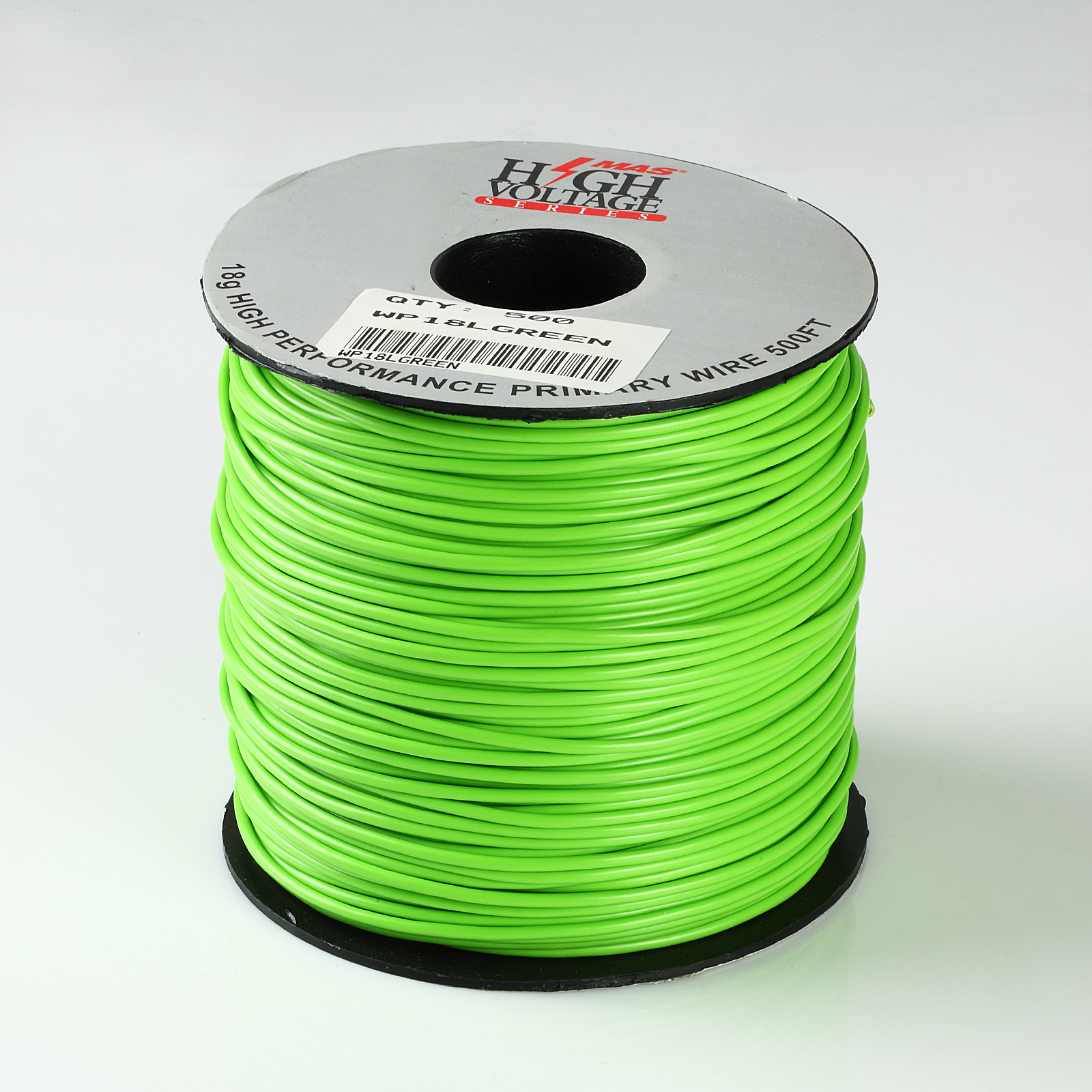 500ft Spool Of White 18 Gauge AWG Primary Wire Home Automotive 12V 500/'
