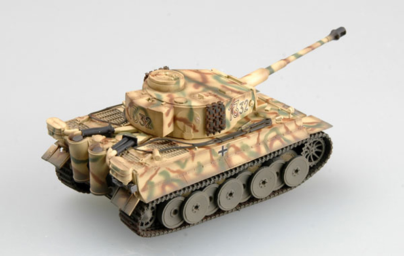 Easy Model Tiger I early temprano SS global kursk 1943 Russia 1:72 Trumpeter rusia