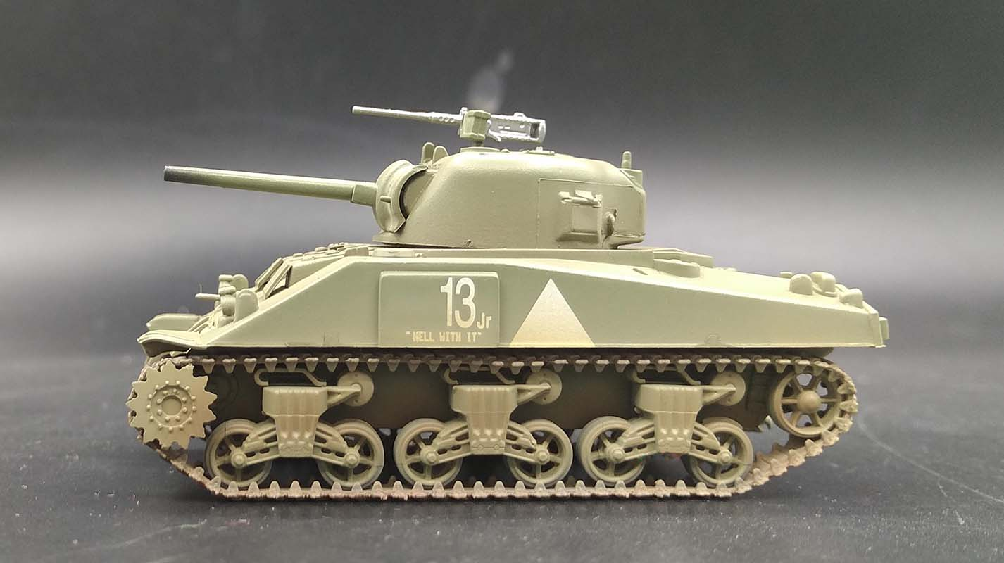 6th Armored div nuevo Easy Model 36251-1//72 US WWII m4 Middle Tank