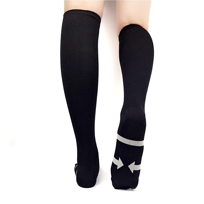 miniature 9 - Men-039-s-Compression-Calf-Socks-20-30mmHG-Stockings-Graduated-Support-Multicolor