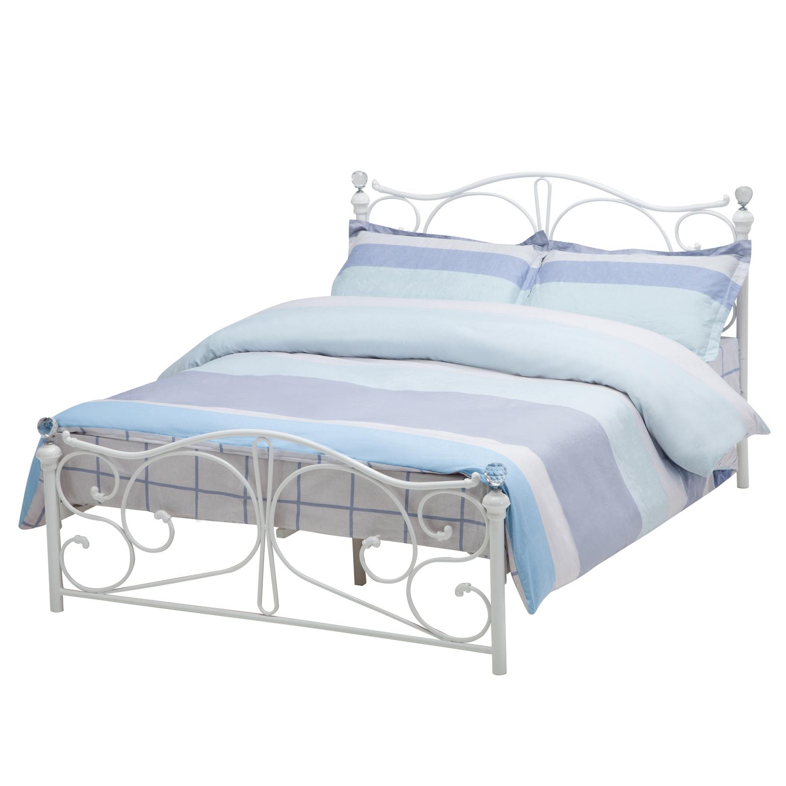 twin full size metal bed frame wood slats headboard footboard bedroom furniture ebay. Black Bedroom Furniture Sets. Home Design Ideas