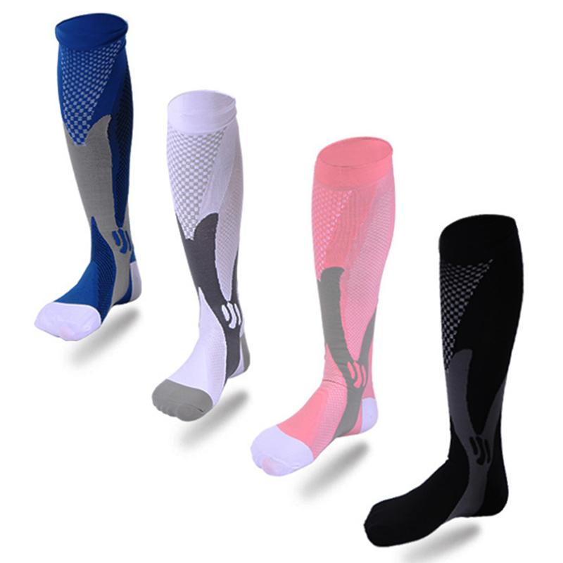 miniature 27 - 20-30mmHg-Unisex-Compression-Socks-Socking-Recovery-Relief-Prevent-Swelling