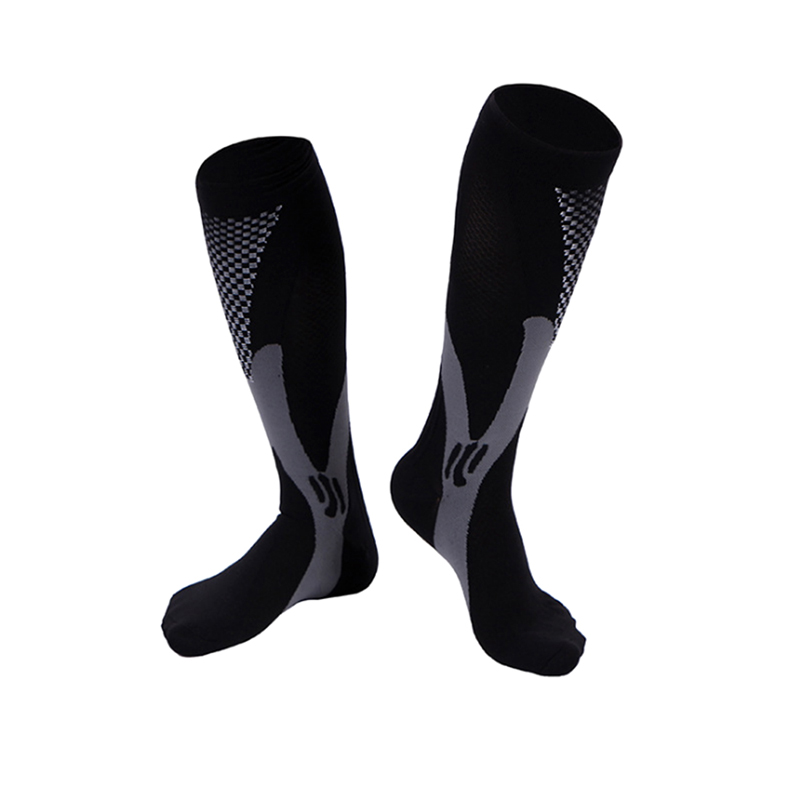 miniature 13 - 20-30mmHg-Unisex-Compression-Socks-Socking-Recovery-Relief-Prevent-Swelling