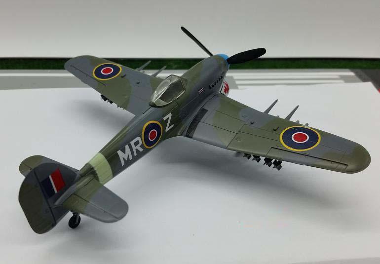 IB-Abril de 1945-nuevo Easy Model 36314-1//72 Hawker Typhoon Mk