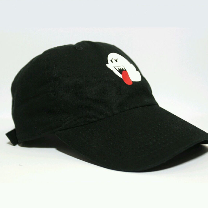 da6e14d77f9 Fashion Men Women Bryson Tiller Boo Ghost Strapback Baseball Caps ...