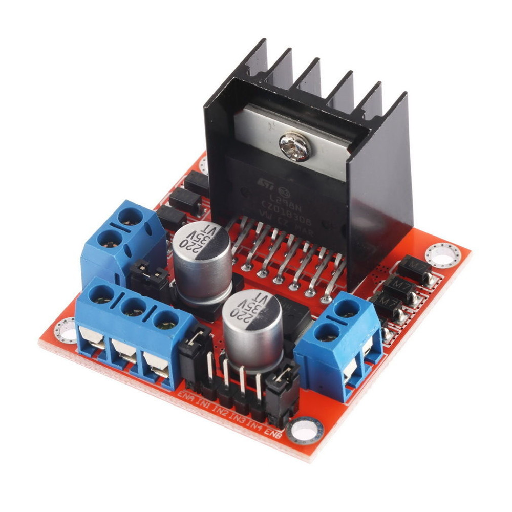 Motor Drive Controller Board Module L298N Dual H Bridge DC Stepper For Arduino