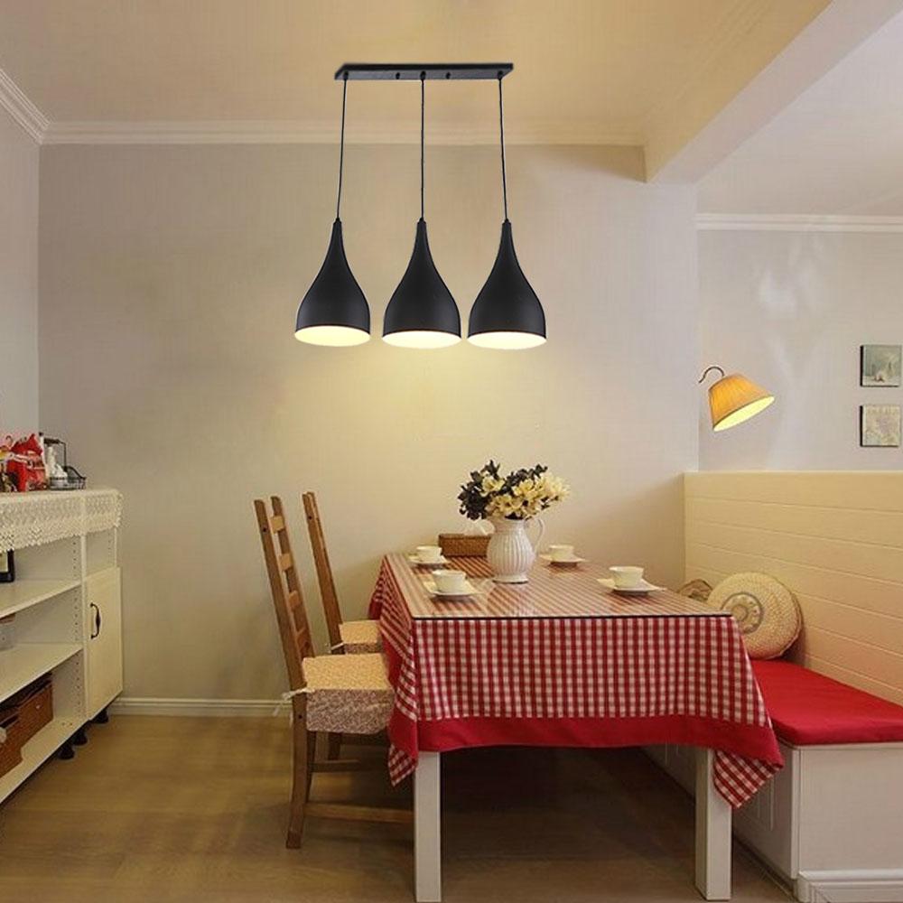 modern kronleuchter esstisch lampenschirm e27 h ngelampe On deckenlampe esszimmer