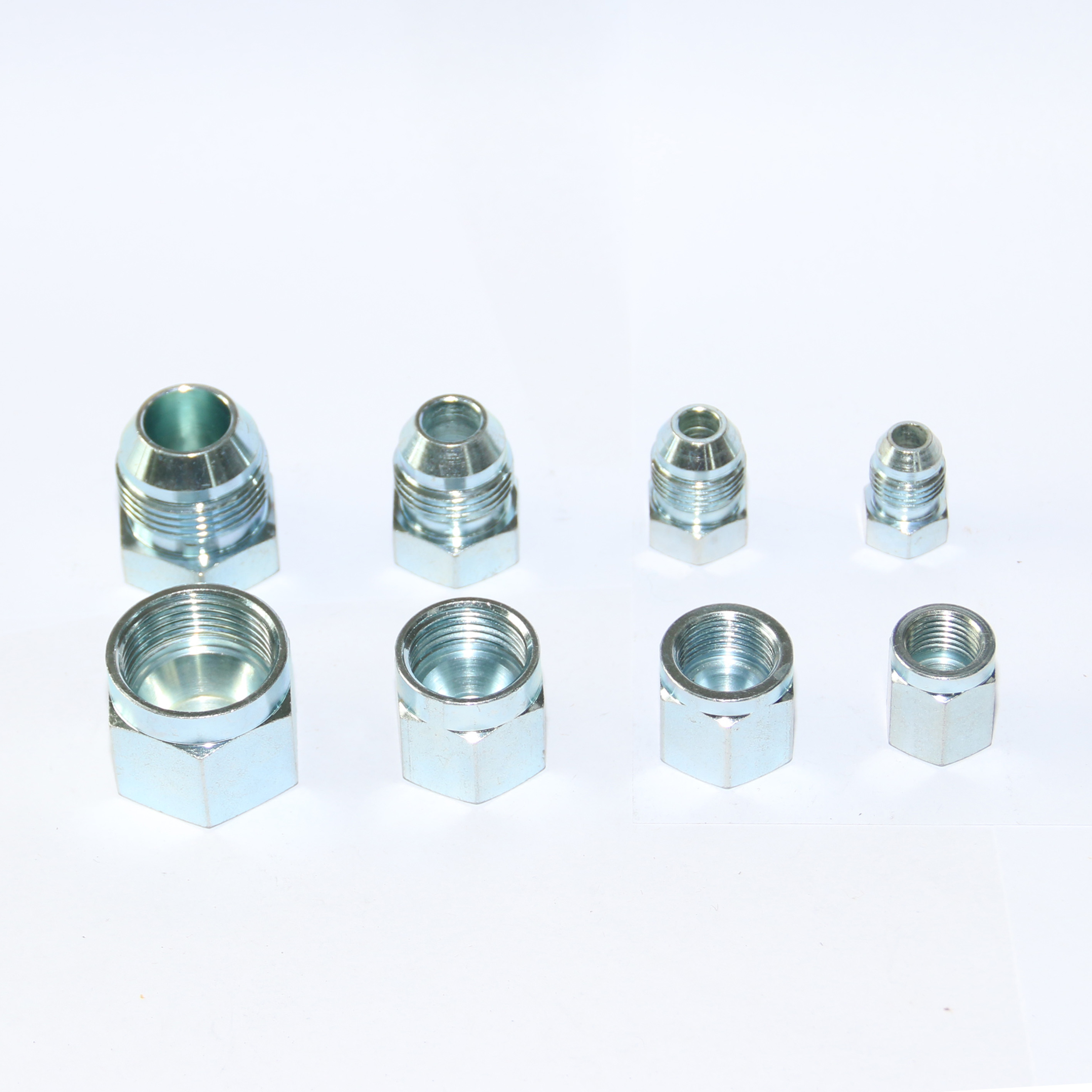 Hydraulic JIS30 Cap and Plug Adapter Fittings  for Excavator Kobelco-16 Pack