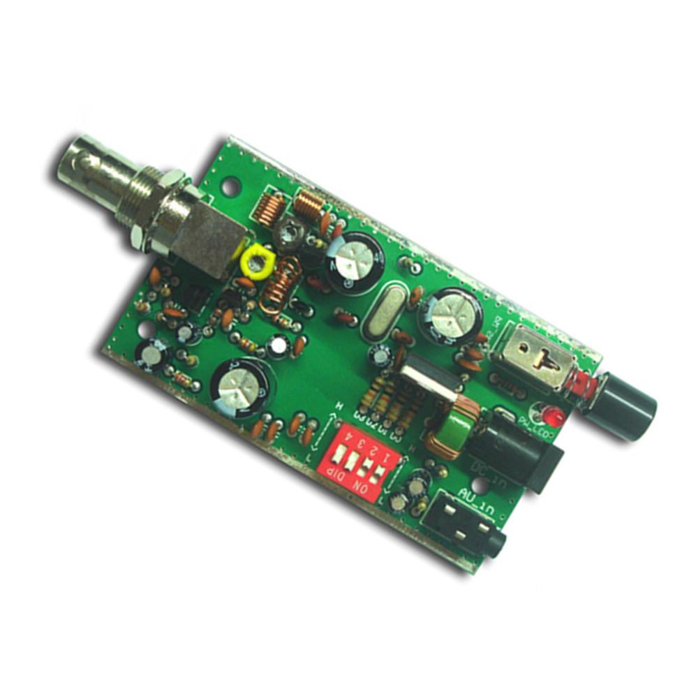 Bh1417f Fm Radio Transmitter Module 5v 12v Pll Stereo Digital 8w With Lcd Station Diy