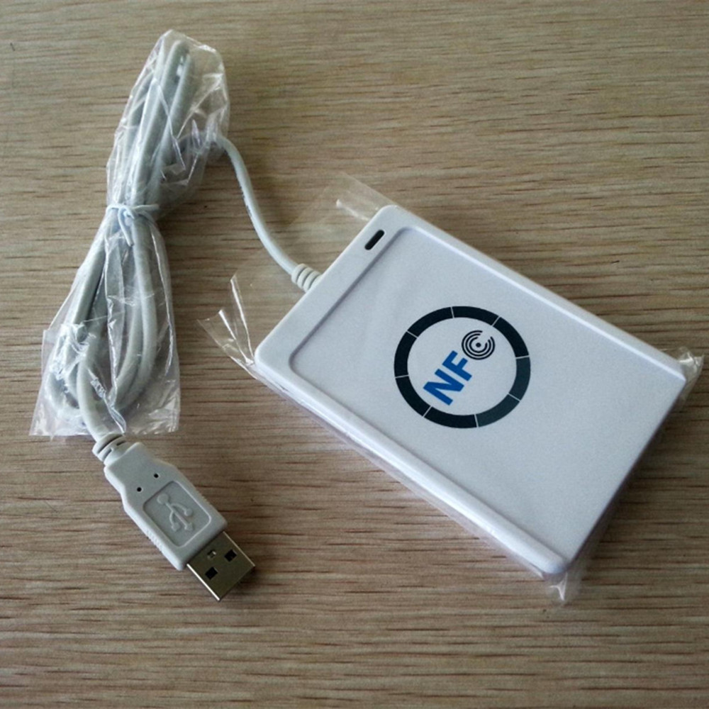 Details about USB ACR122u NFC Reader&Writer 13 56Mhz RFID Copier Duplicator  For iPhone