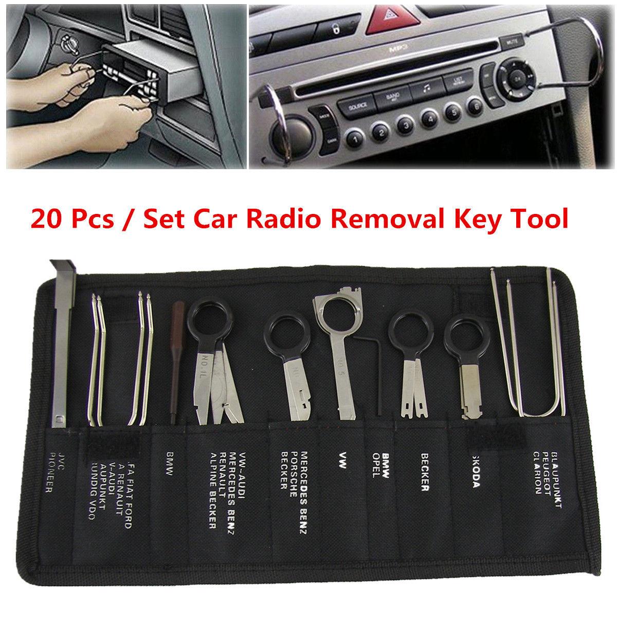 Becker Radio Release Keys Fits All Head Units