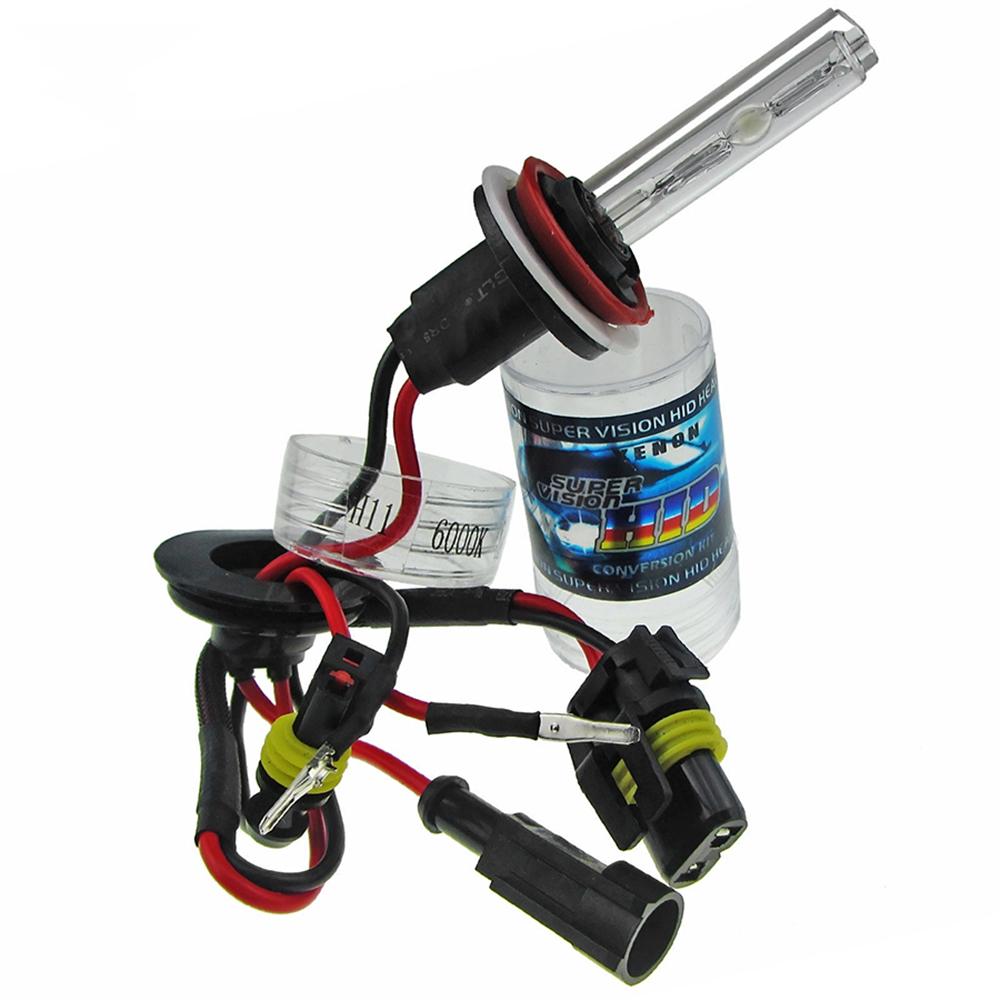 2x Xenon H11 Hid Bulbs Ac 35w Headlight Conversion Kit