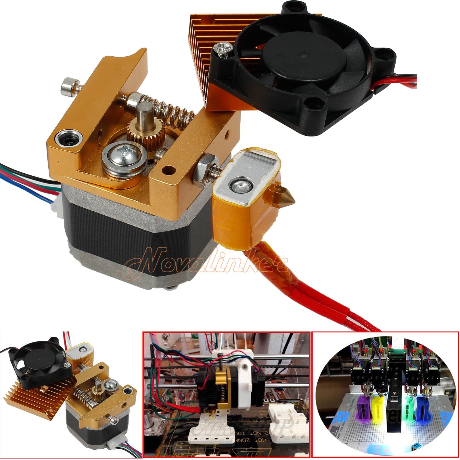 Nozzle Latest Upgrade 3D Printer MK8 Extruder Sensor hotend 0.4mm Print Head