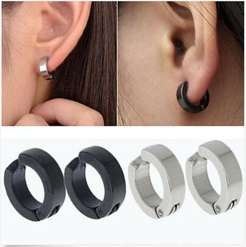 anneaux boucle d'oreille homme