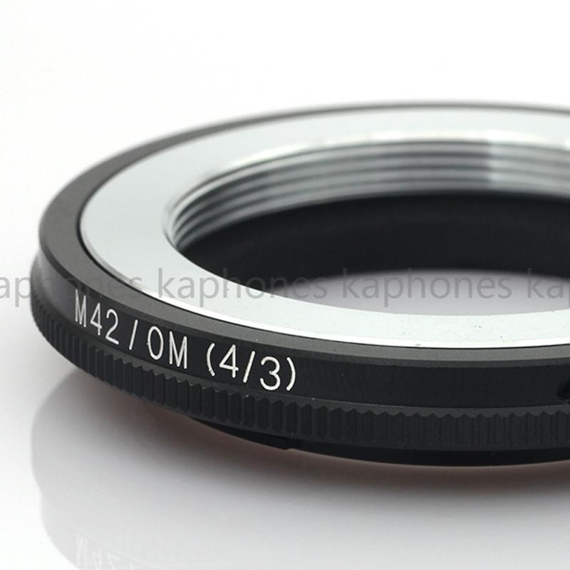 M42 Lente de montaje para Olympus Cuatro Tercios OM4//3 SLR E620 E520 E-410 D Adaptador de cámara