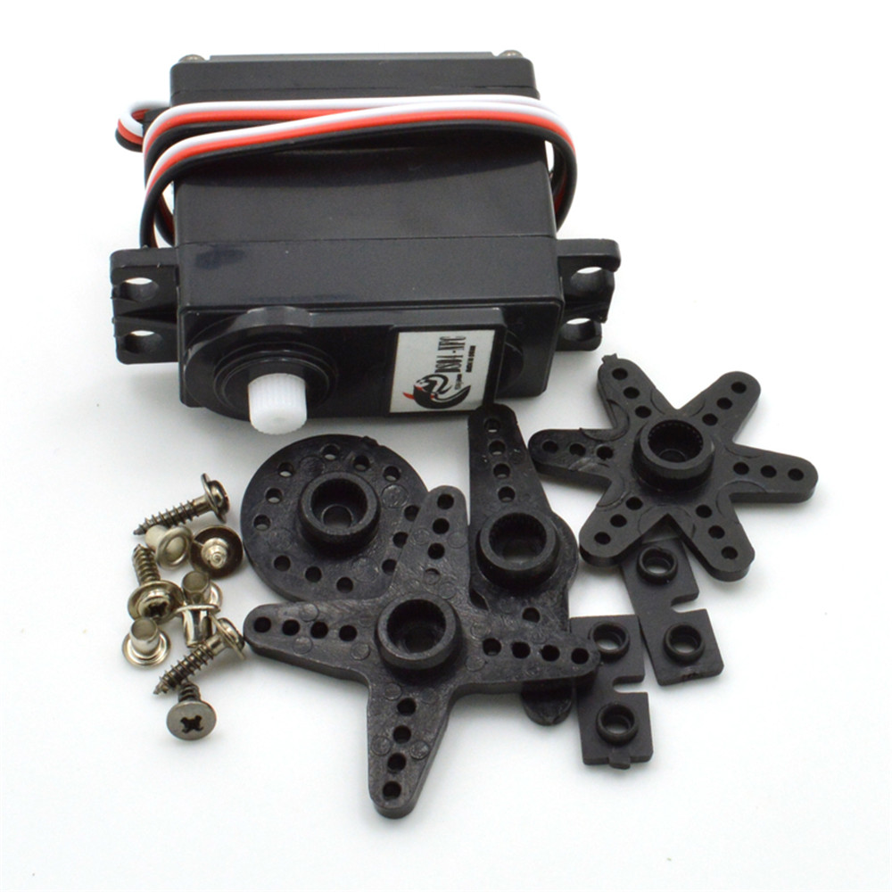 DS04-NFC 360 Degree Continuous Rotation Micro RC Servo Motor for Robot Car