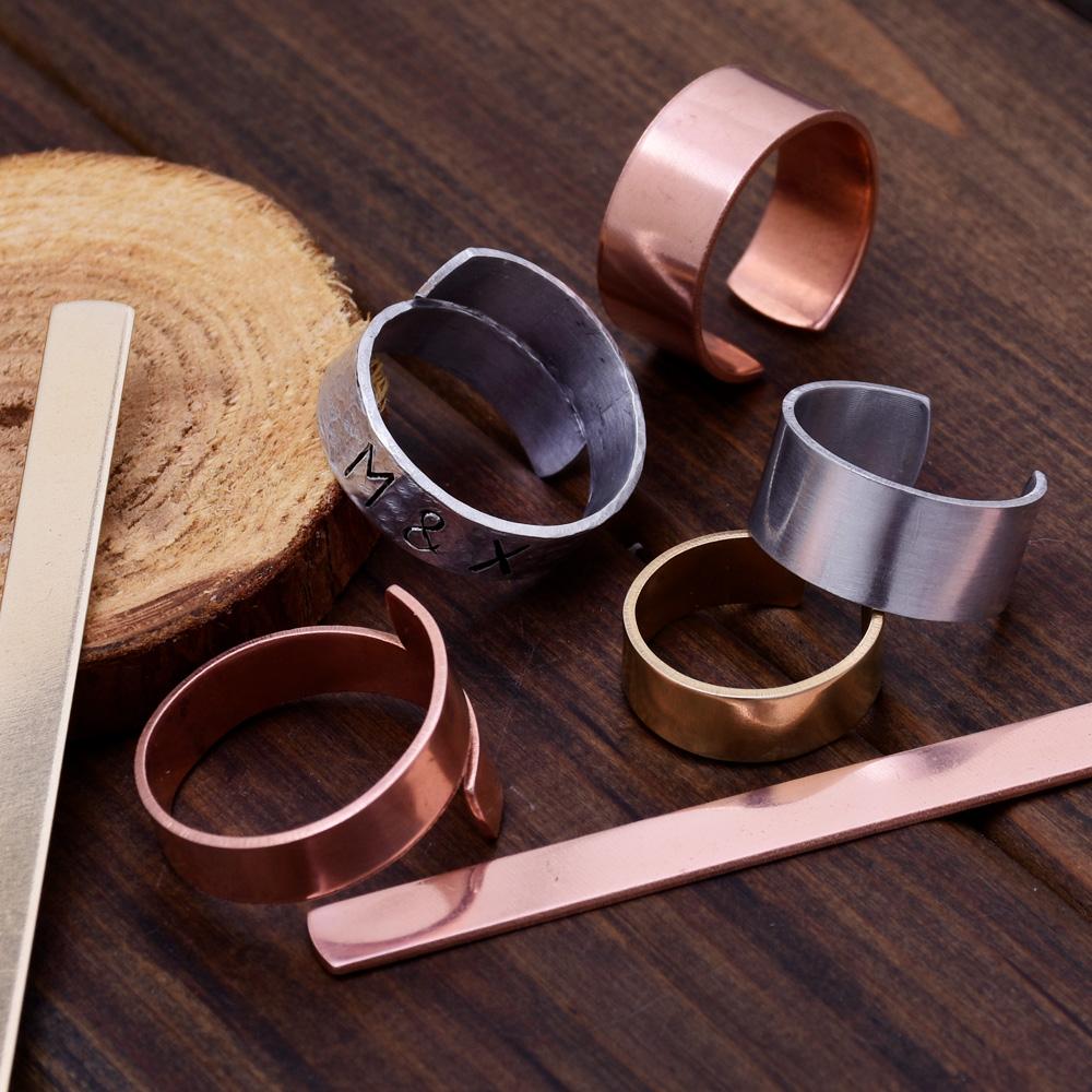 Brass Stamping Blank metal blanks Custom Metal Bracelet Cuffs 18 Gauges 20pcs