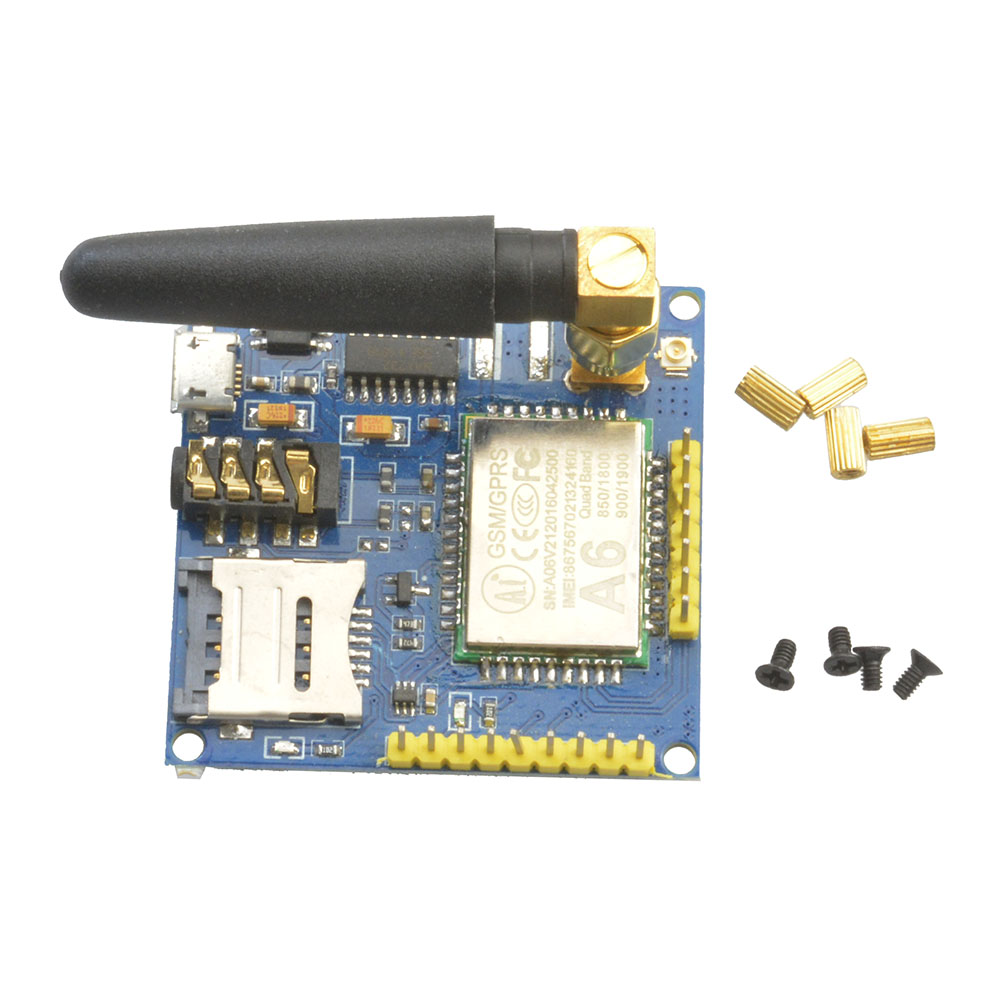 Details about A6 GPRS Pro Serial GPRS GSM Module Core DIY Developemnt Board  Replace SIM900 NEW