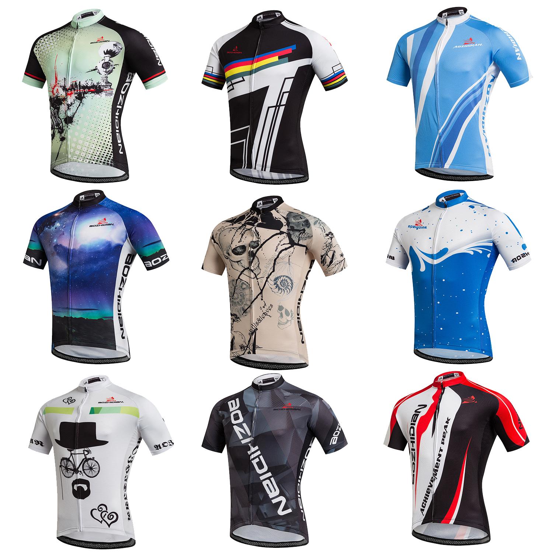 Details about Men s Bike Bicycle Jersey Tops Short Sleeve Biking Cycling  Shirts Jersey S-5XL b2d167e98