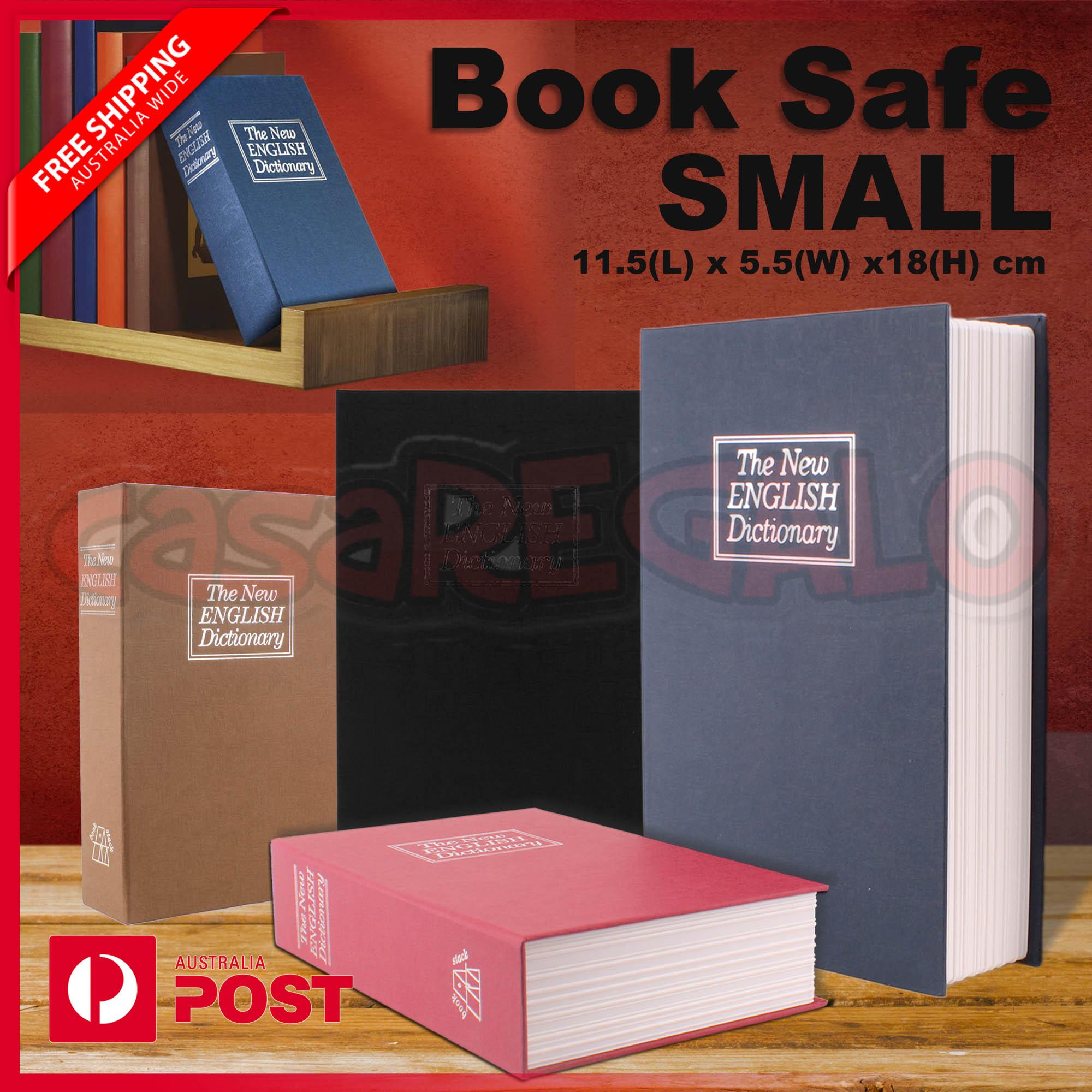 Dictionary Small Book Safe Box Secret Security Cash Money