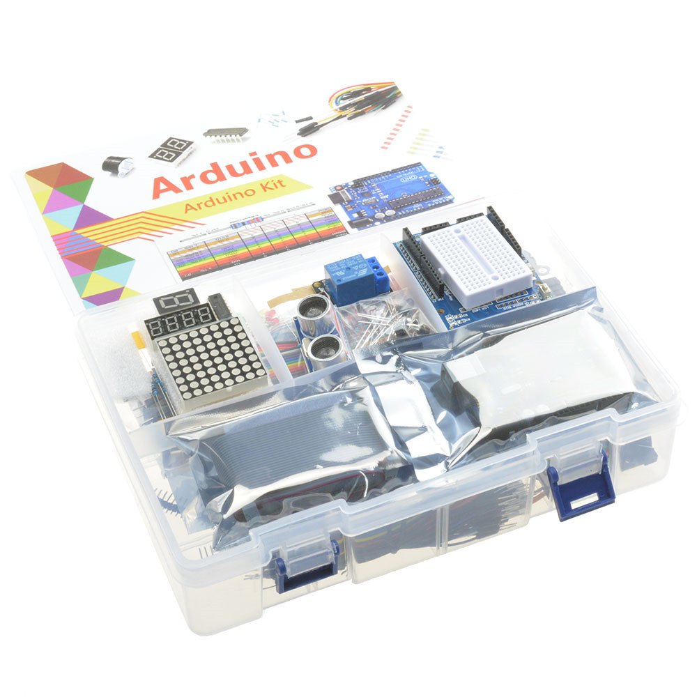 Big Two Layer Box New Ultimate UNO R3 Starter Kit for Arduino//Infiduino LCD