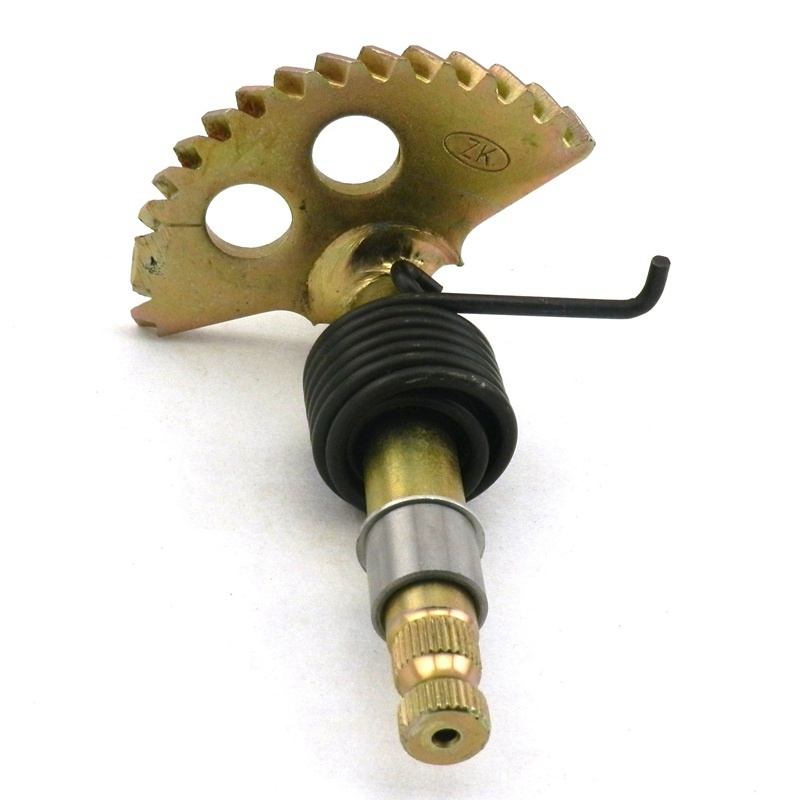 GY6 125cc  150cc Kick Start Gear Shaft Spindle  Chinese Scooter Parts 147mm