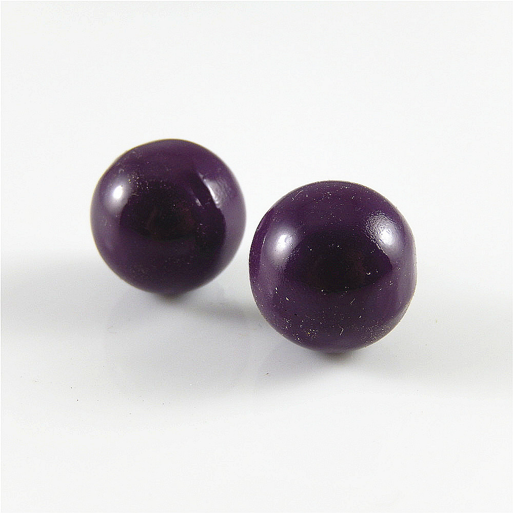 5pcs Purple Color Bola Bell Brass Charms Pendants Jewelry Crafts Findings 52434