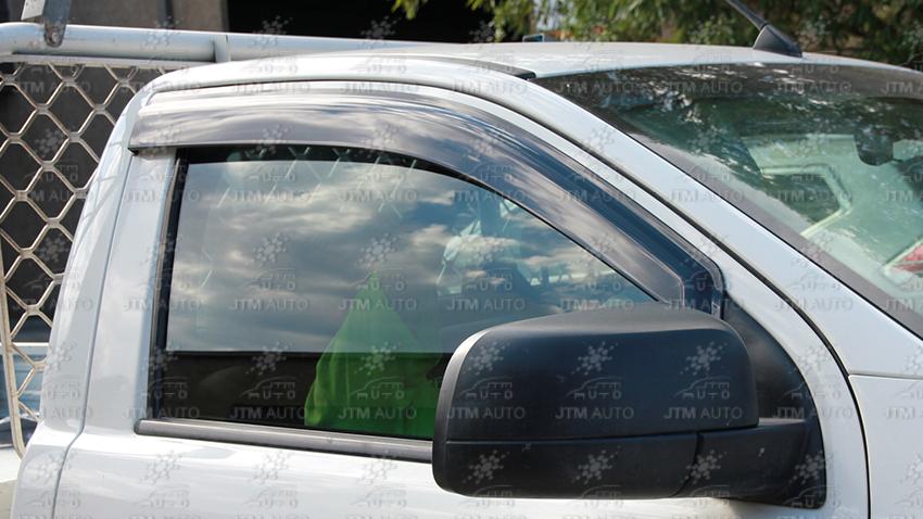 Bonnet Protector + Weather Shields Visor tosuit Ford Ranger Single Cab 2012-2015