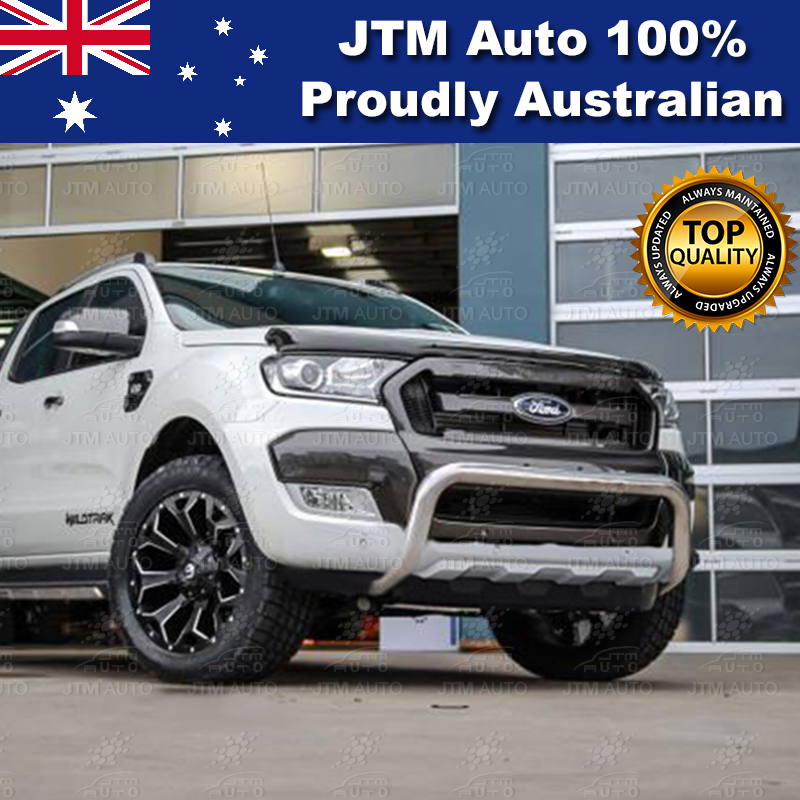 ADR approved 3 Inch Nudge Bar to suit Ford Ranger PX2 Tech Pack & Sensor 2015-2018