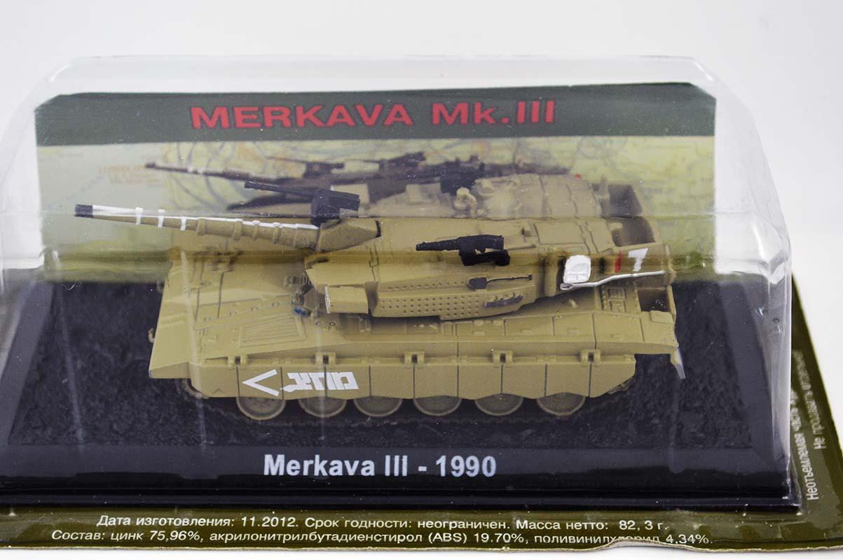 TANK EAGLEMOSS 1//72 MTE-29 MERKAVA Mark III ISRAEL 1990