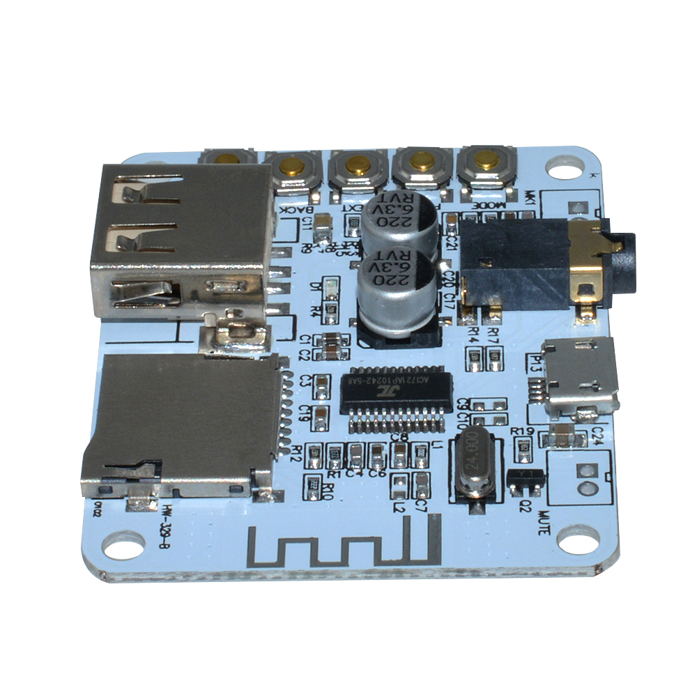 DC 5V TF Card Decode Player Stereo Bluetooth Audio Receiver Amplifier Board