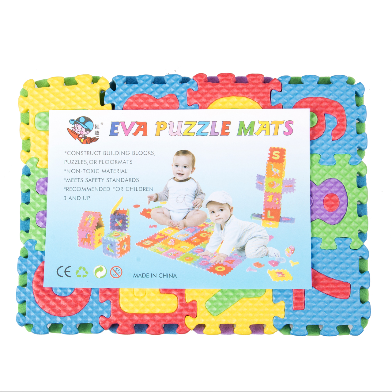 1cd9b4023a2 36pcs Soft Eva Foam Baby Play Floor Mat Alphabet Numbers Kids DIY ...