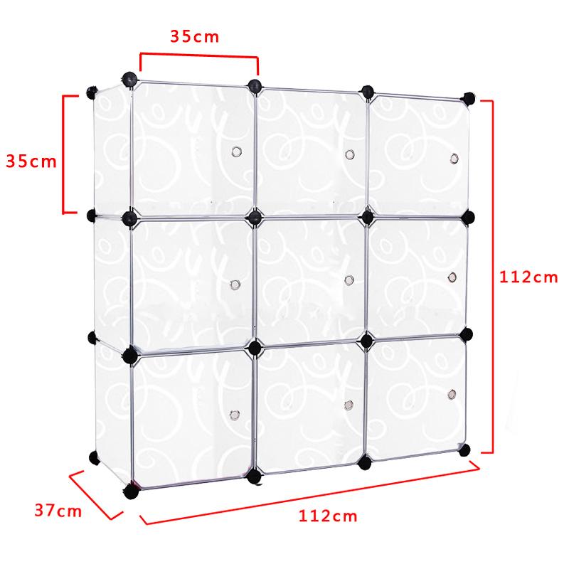 diy regalsystem kleiderschrank mit t ren steckregal standregal badregal regal ebay. Black Bedroom Furniture Sets. Home Design Ideas