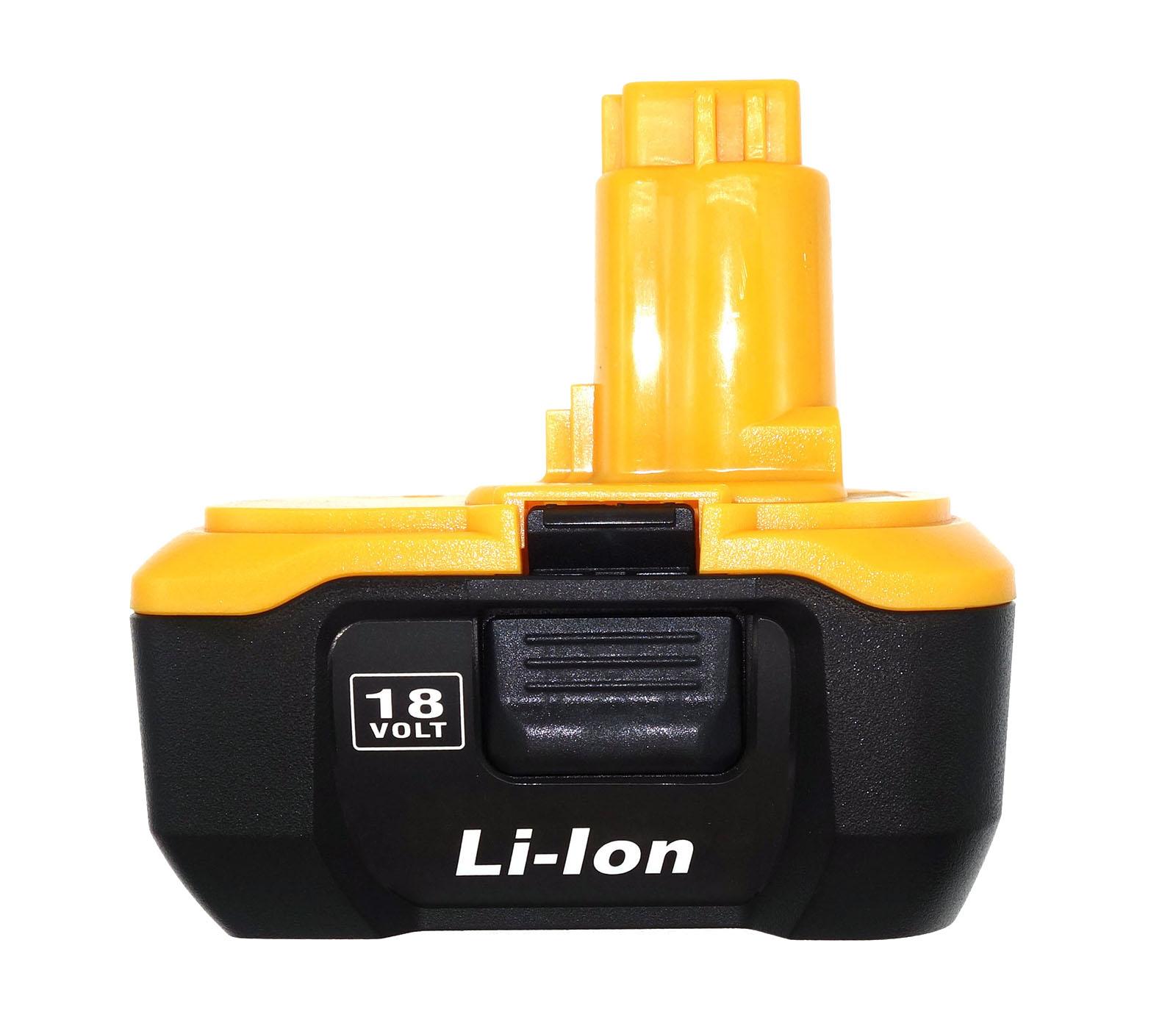 18v 4 0ah Replacement Li Ion Battery For Dewalt Dc9180