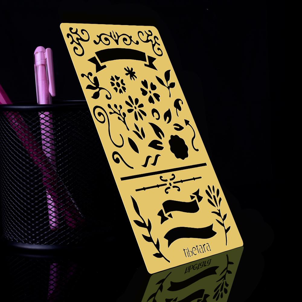 "Bullet journal stencil Alphabet Stencil for bullet planner 4*7/"" 1pcs 10194850"