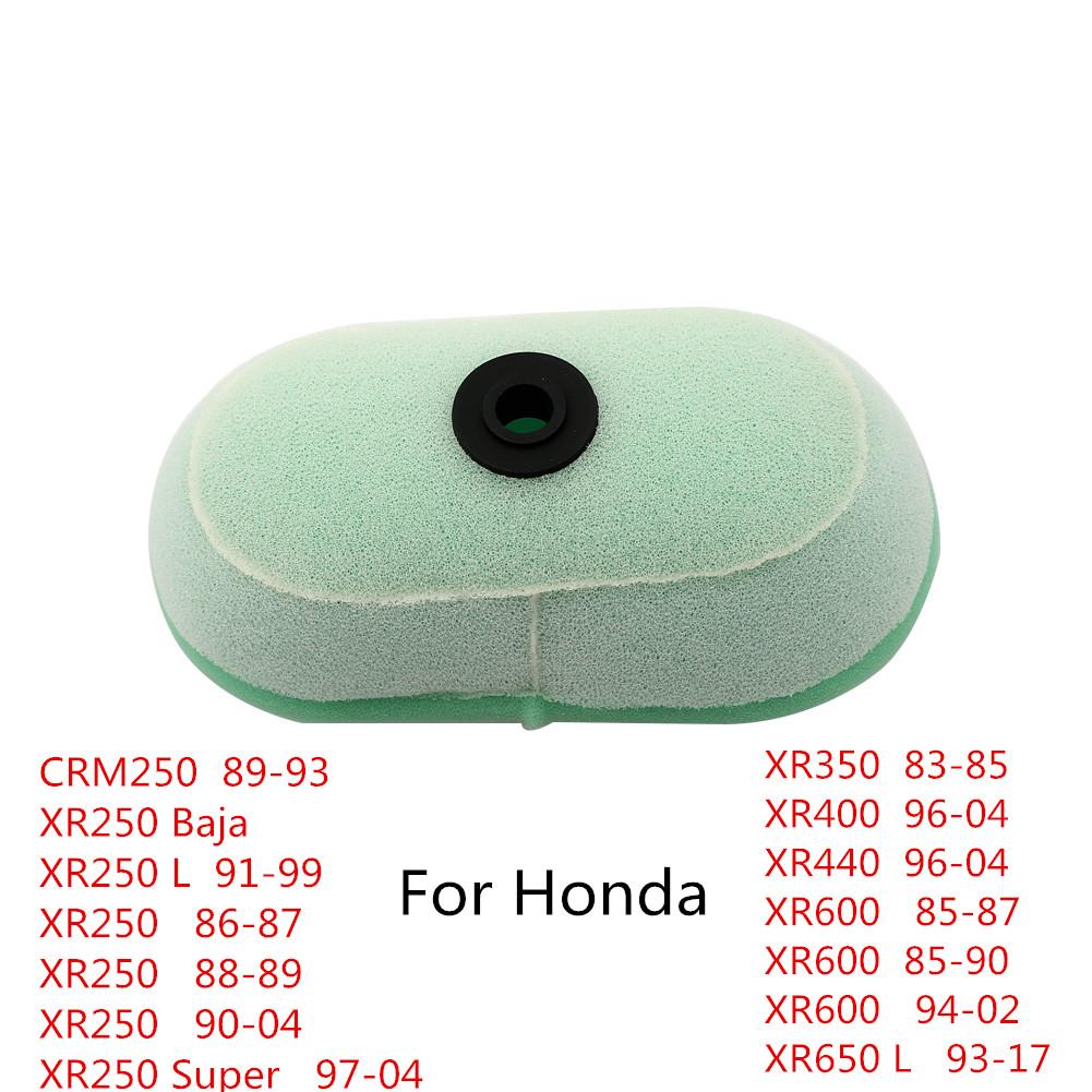 Details about Air Filter Cleaner For Honda XR250 Baja CRM250 XR 250L 440  350 400 600 650L