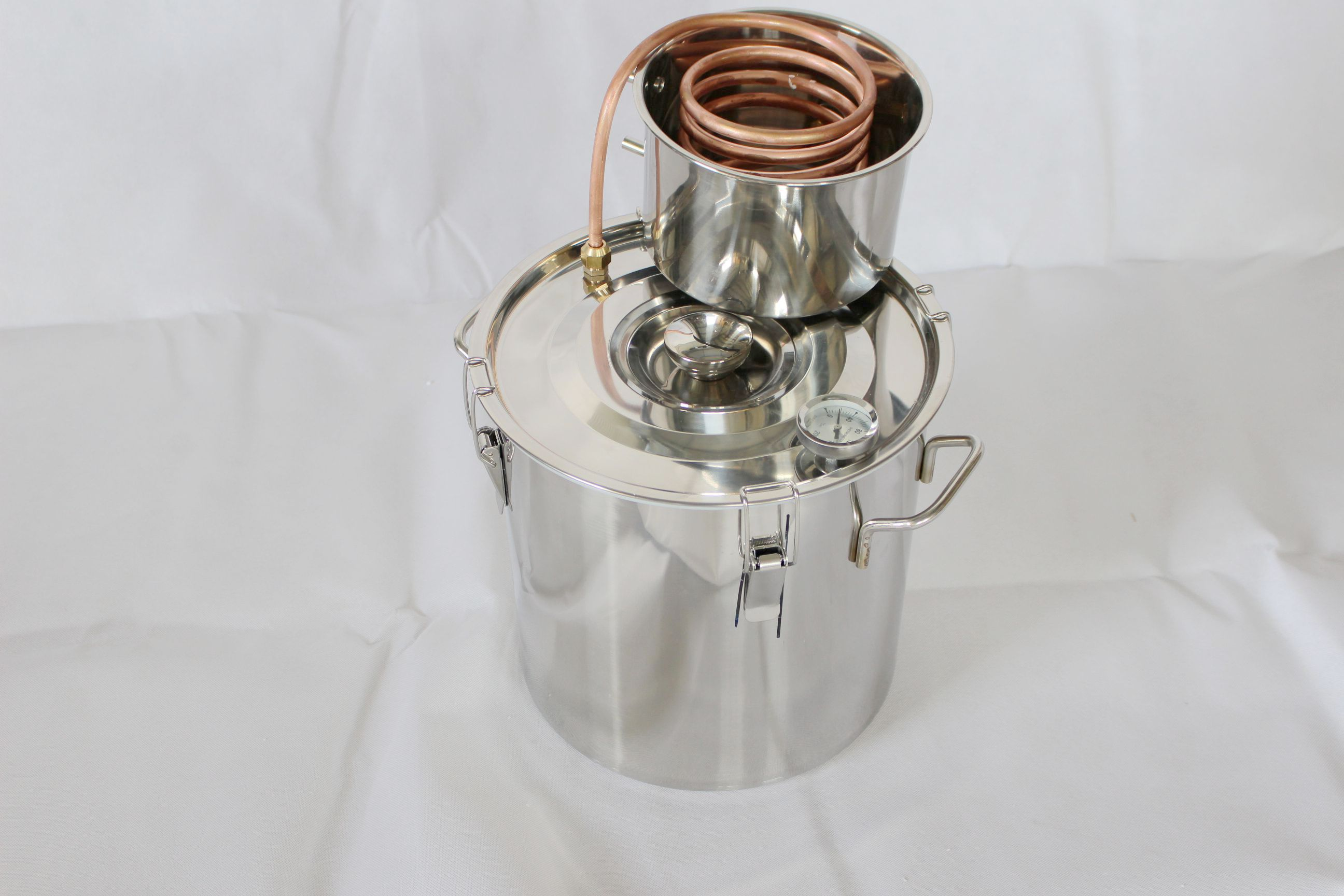 5 Gallons Copper Alcohol Distiller Moonshine Ethanol Still