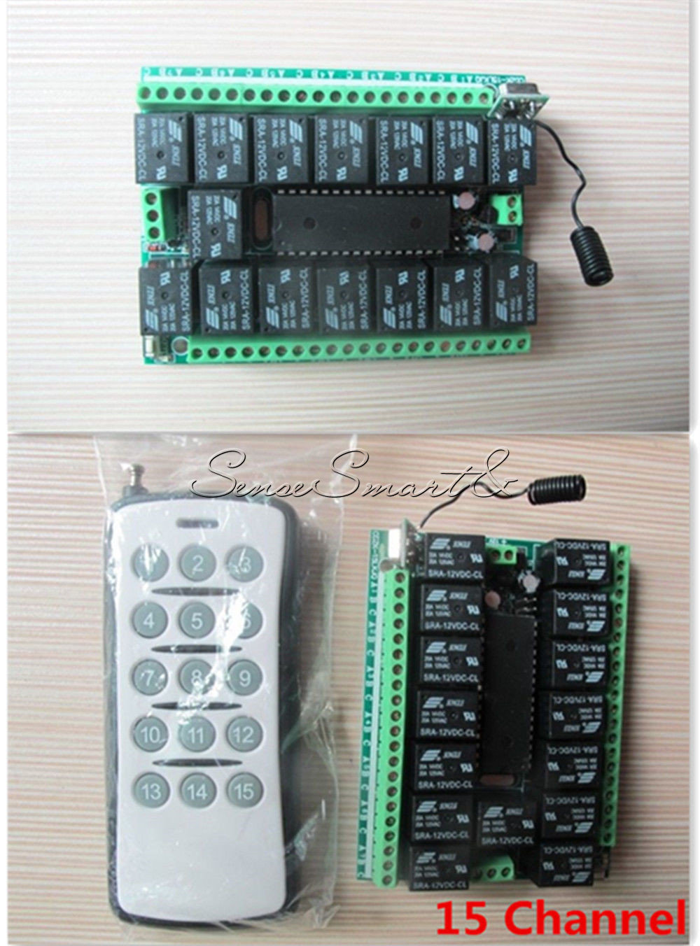 Details about 1/4//6/8/12/15 Channel 12V 315MHZ RF Remote Control  Transmitter Receiver Module