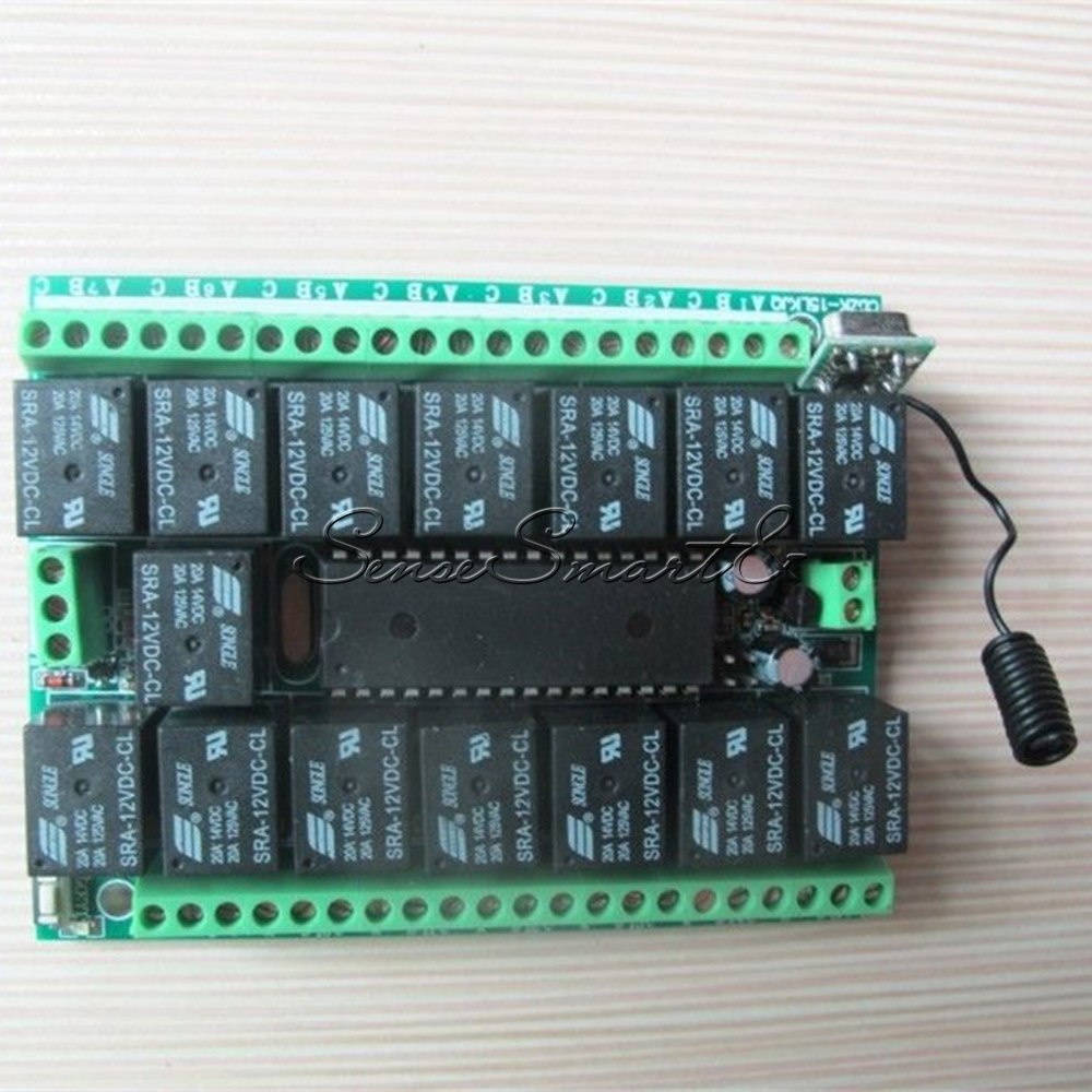 1-4-6-8-12-15-Channel-12V-315MHZ-RF-Remote-Control-Transmitter-Receiver-Module thumbnail 31