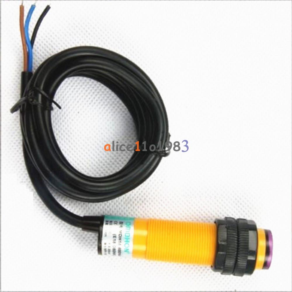E18-D50NK-E18-D80NK-NPN-Adjustable-Infrared-Reflectance-Sensor-Switch-DIY-Kit thumbnail 12