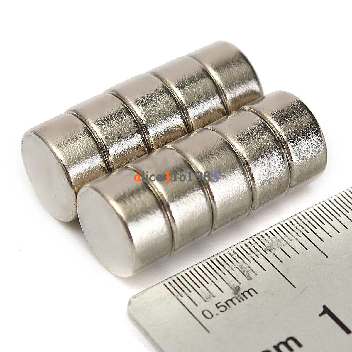 5-10PCS-Super-Round-Strong-Fridge-Magnets-Rare-Earth-Neodymium-Magnet-N50-N52 thumbnail 19